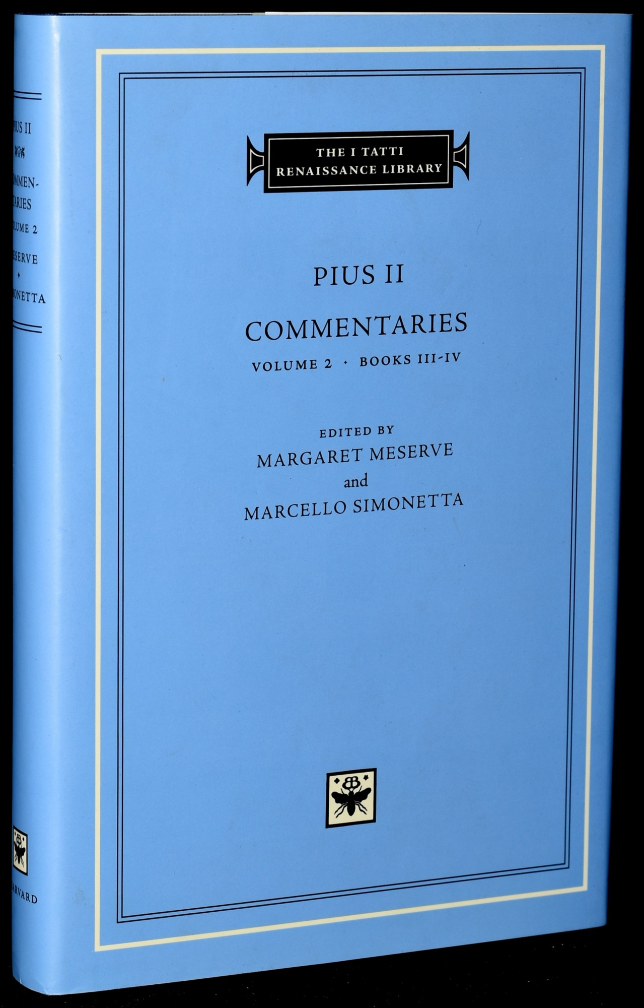 Books III-IV Volume 2 Commentaries