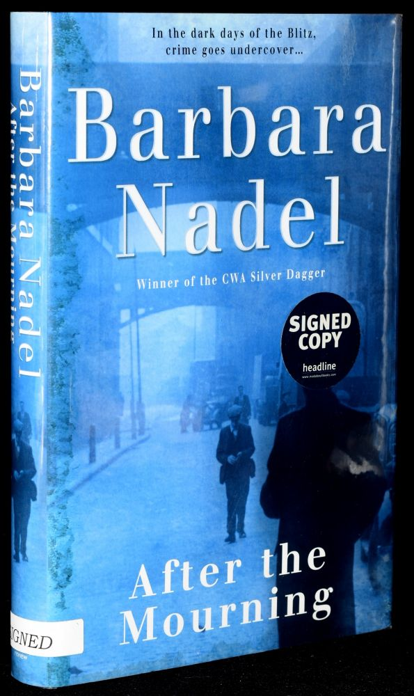 AFTER THE MOURNING (Signed; First UK Edition). Barbara Nadel.