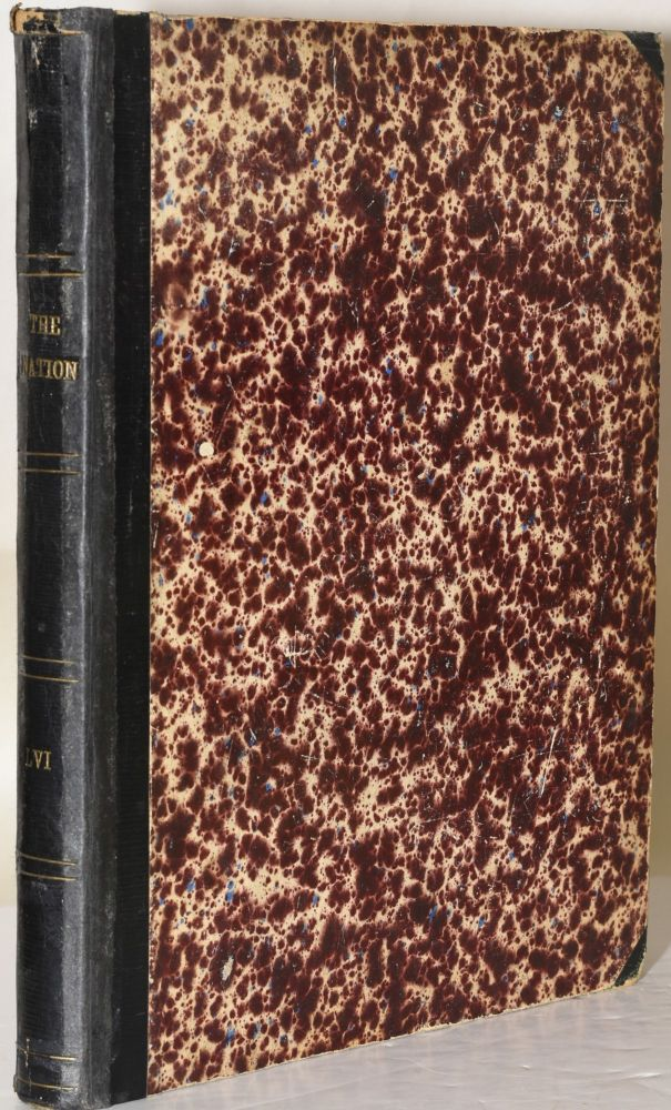 THE NATION. VOLUME LVI, FROM JANUARY 1, 1893 TO JUNE 30, 1893 (6 Months; Bound)