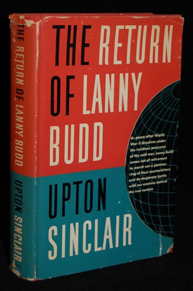 The Return Of Lanny Budd Upton Sinclair First Edition First