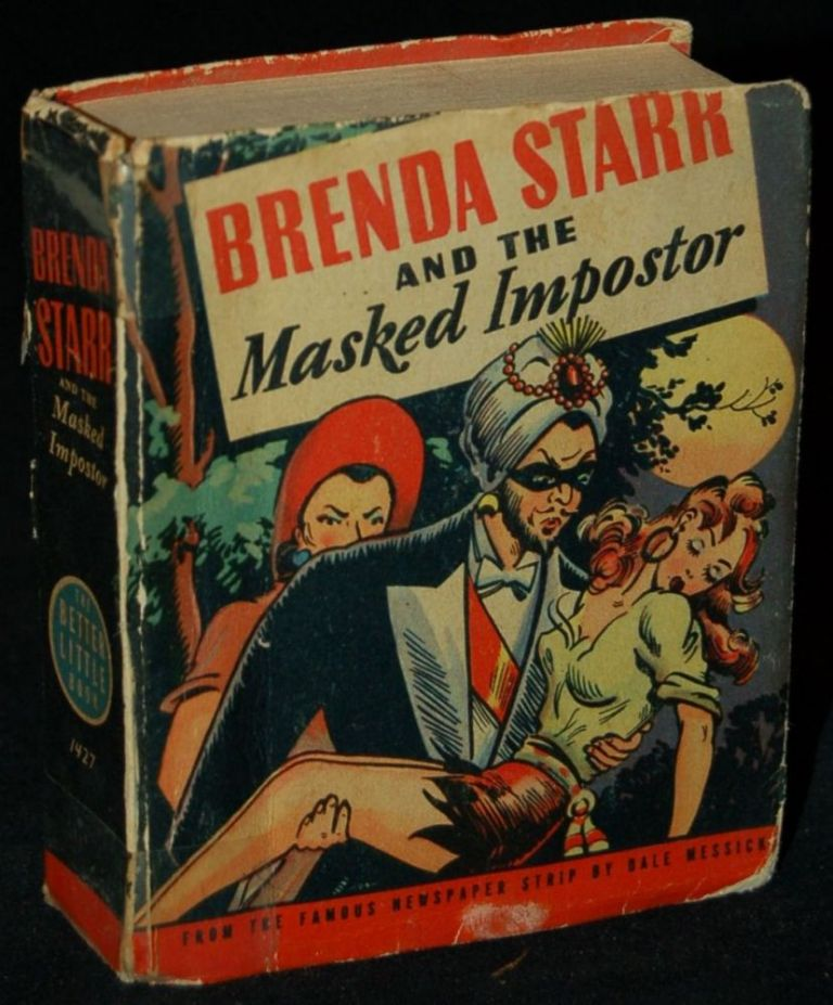 BRENDA STARR AND THE MASKED IMPOSTOR (A BETTER LITTLE BOOK). Dale Messick, author.