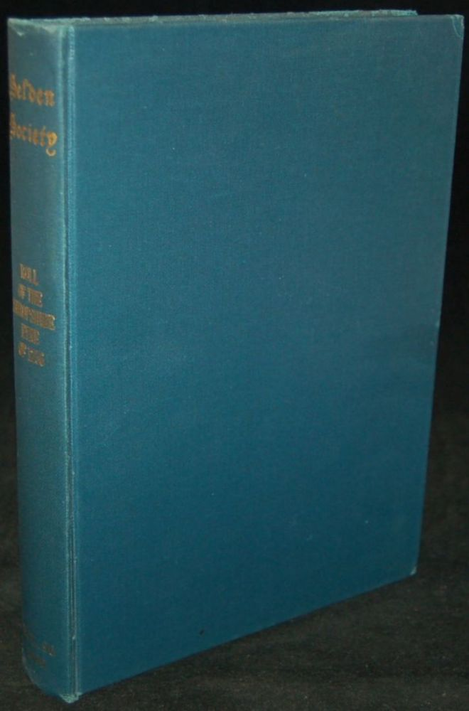 THE ROLL OF THE SHROPSHIRE EYRE OF 1256. Alan Harding.