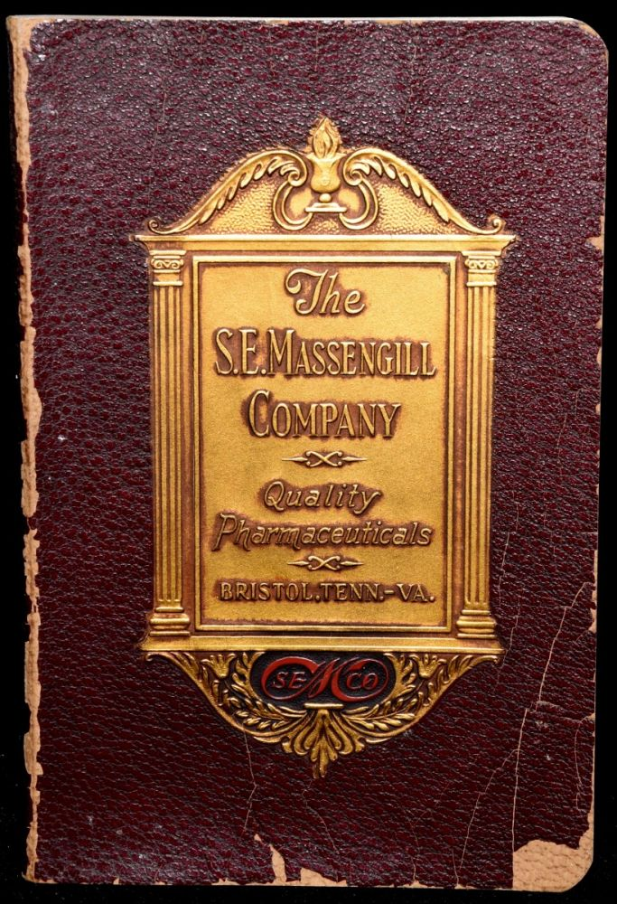 COMPLETE CATALOG OF THE PRODUCTS OF THE LABORATORIES OF THE S. E. MASSENGILL COMPANY 1932-1933. S. E. Massengill Company.