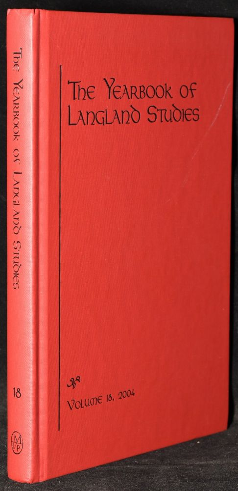 THE YEARBOOK OF LANGLAND STUDIES. VOLUME 18, 2004. Andrew Cole.