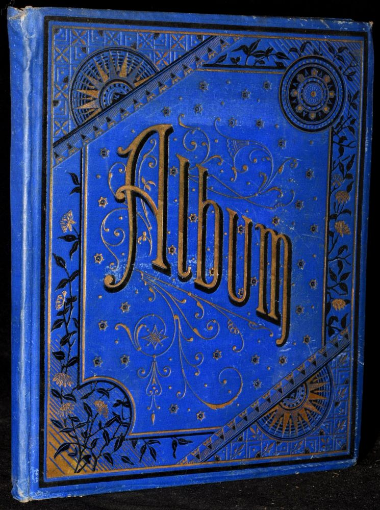 ALBUM FROM THE 1880's -- CHROMOLITHOGRAPHS