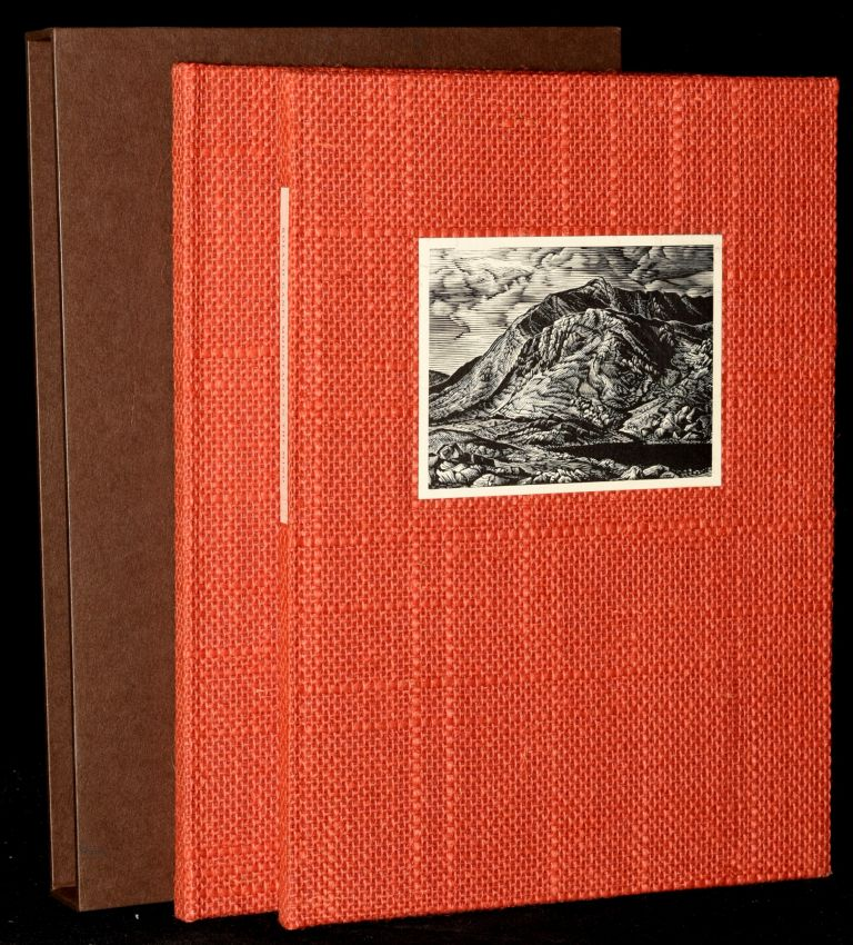 MOUNTAINS IN THE MIND. POEMS. WITH SIX WOOD-ENGRAVINGS BY HOWARD PHIPPS (2 VOLUMES). Roland Gant.