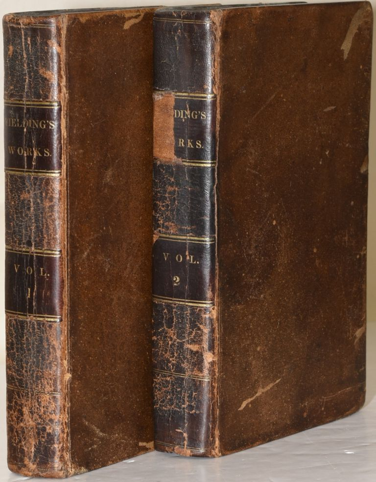 SELECT WORKS OF HENRY FIELDING. IN TWO VOLUMES. VOL. I & II. (TWO VOLUMES). Henry Fielding | Walter Scott.