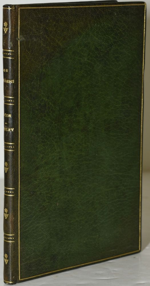 ON GARDENS. TWO ESSAYS [THE ASTOLAT OAKLEAF SERIES]. Francis Bacon, Abraham Cowley.