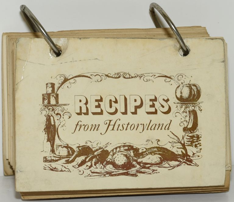 RECIPES FROM HISTORYLAND. Woman's Club of White Stone, Virginia.