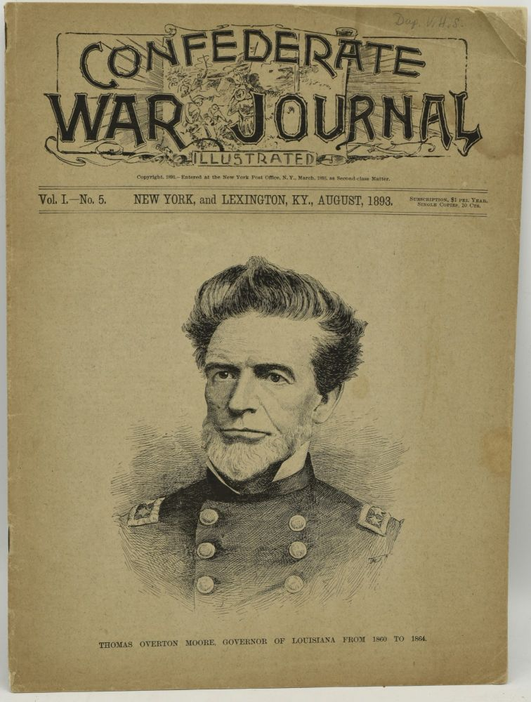 CONFEDERATE WAR JOURNAL, ILLUSTRATED. VOL. I. NO. 5. AUGUST, 1893.