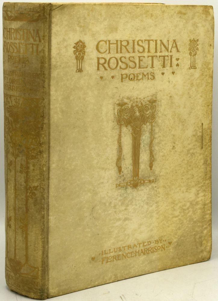 POEMS [With Prospectus]. Christina Rossetti | Floerence Harrison.