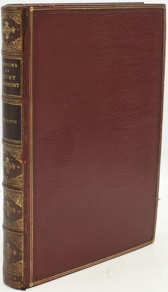 GRAMMONT'S MEMOIRS OF THE COURT OF CHARLES THE SECOND. (THE ROYAL LIBRARY HISTORICAL SERIES). Anthony Hamilton.
