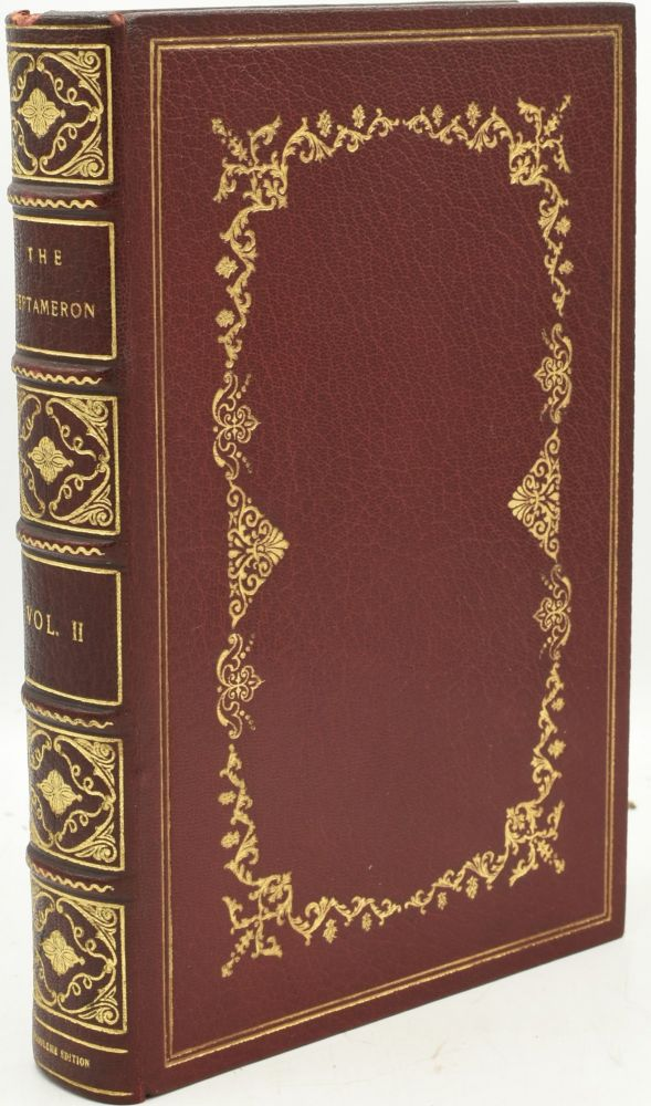 THE HEPTAMERON OF MARGARET OF ANGOULEME (Volume II Only). Le Roux De Lincy | J. S. Chartres.