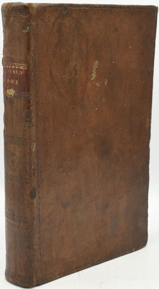 A COLLECTION OF ALL SUCH ACTS OF THE GENERAL ASSEMBLY OF VIRGINIA OF A PUBLIC AND PERMANENT NATURE AS HAVE PASSED SINCE THE SESSION OF 1801: TO WHICH ARE ADDED APPENDICES. VOL. II. (SECOND VOLUME ONLY). General Assembly of Virginia.