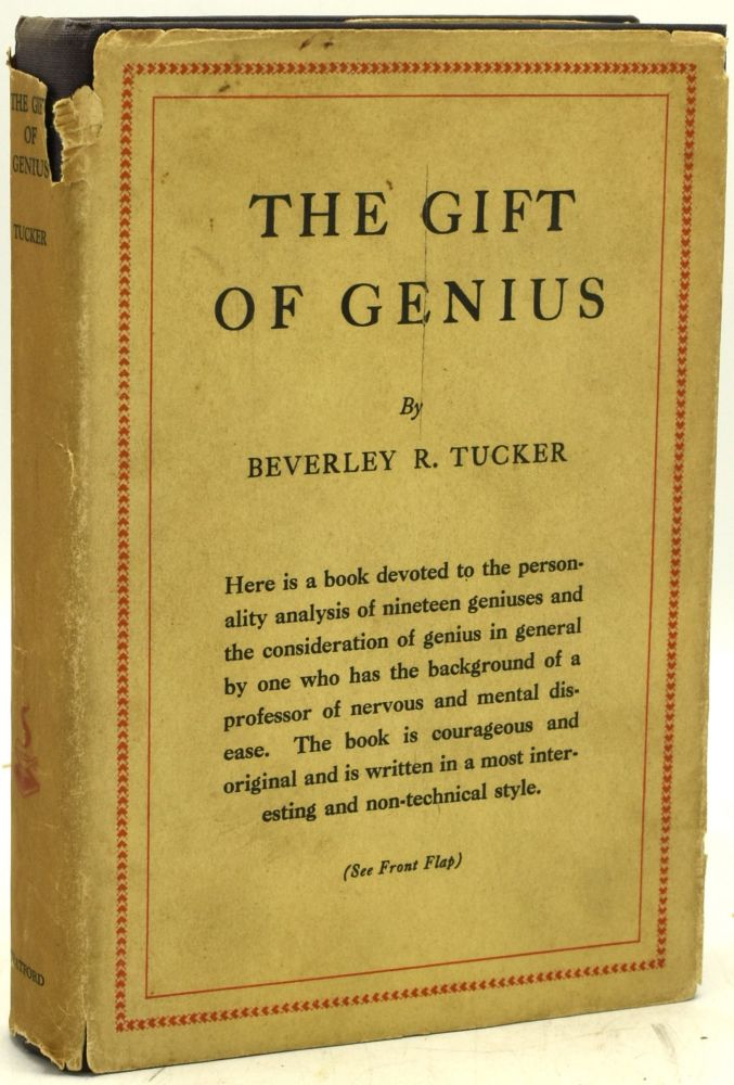 THE GIFT OF GENIUS. Beverley Randolph Tucker.