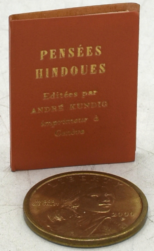 PENSEES HINDOUES.