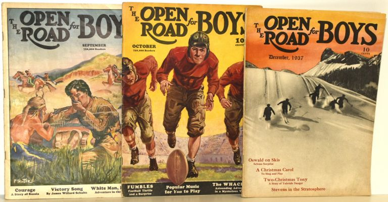 THE OPEN ROAD FOR BOYS [3 ISSUES FROM 1937]