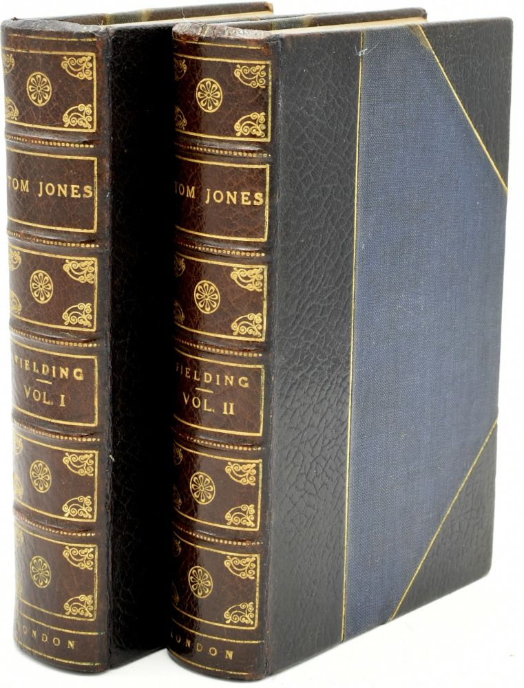 THE HISTORY OF TOM JONES, A FOUNDLING. IN TWO VOLUMES. VOL. I & II. Henry Fielding | George Cruikshank.