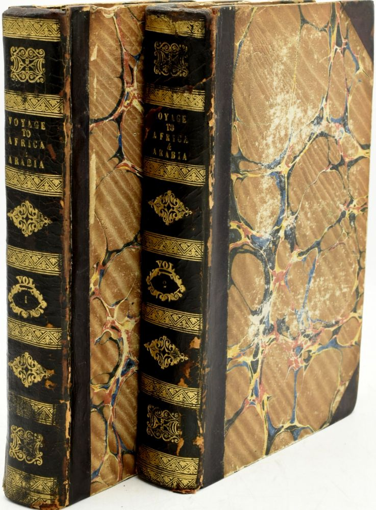 NARRATIVE OF A VOYAGE OF DISCOVERY TO AFRICA AND ARABIA, PERFORMED IN HIS MAJESTY'S SHIPS LEVEN AND BARRACOUTA, FROM 1821 TO 1826. UNDER THE COMMAND OF CAPT. F. W. OWEN, R.N. IN TWO VOLUMES. VOL. I & II. Thomas Boteler |, Captain William Fitzwilliam Owen.