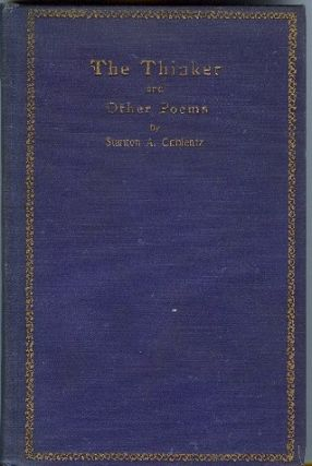 THE THINKER AND OTHER POEMS. Stanton A. Coblentz