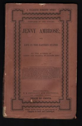 "JENNY AMBROSE; or, Life in the Eastern States. Eliza Jane Cate, By the Author of ""Lights, Shadows..."
