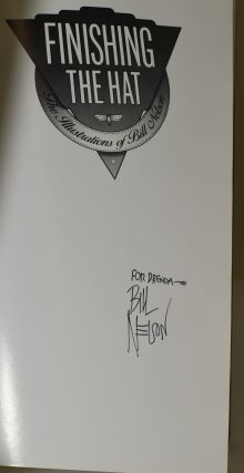 FINISHING THE HAT: The Illustrations of Bill Nelson (signed)