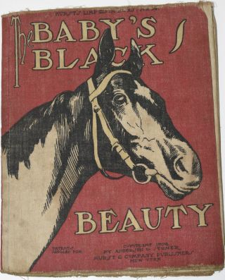 THE BABY'S BLACK BEAUTY: HURST'S LIMP CLOTH BOOKS, NO. 14