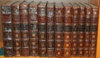 12 Volumes] THE WORKS OF JONATHAN SWIFT, D.D. DEAN OF ST. PATRICK'S, DUBLIN, ACCURATELY REVISED...