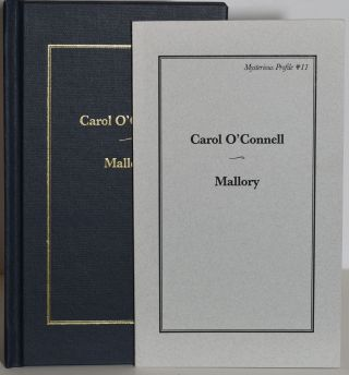 MALLORY: MYSTERIOUS PROFILE #11 (Limited, Signed Edition & Trade Edition). Carol O'Connell