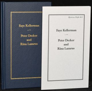 PETER DECKER AND RINA LAZARUS: MYSTERIOUS PROFILE #15 (Limited, Signed Edition & Trade Edition)....