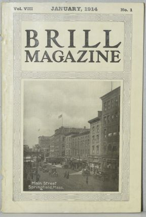 BRILL MAGAZINE: JANUARY, 1914 VOL. VIII NO. 1