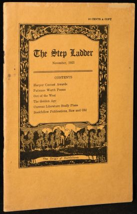 THE STEP LADDER: NOVEMBER 1923, VOL. VII, NO. 6 (A PUBLICATION OF THE ORDER OF BOOKFELLOWS)....