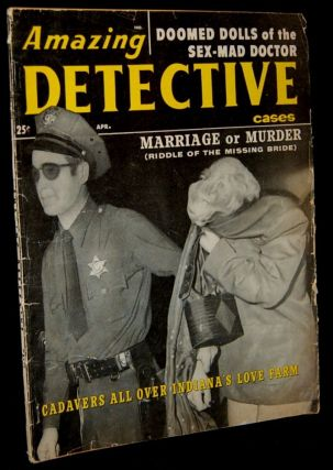 AMAZING DETECTIVE CASES. VOL. 15, NO. 2. APRIL 1960