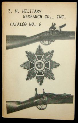Z. M. MILITARY RESEARCH CO., INC. CATALOG NO. 6