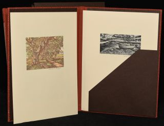 MOUNTAINS IN THE MIND. POEMS. WITH SIX WOOD-ENGRAVINGS BY HOWARD PHIPPS (2 VOLUMES)