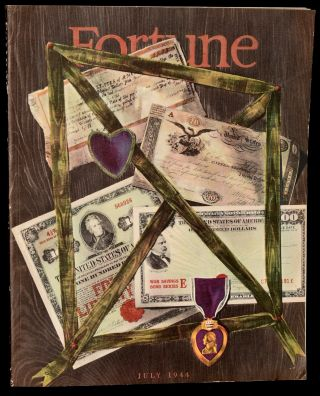 FORTUNE MAGAZINE. JULY 1944 [Volume XXX, No. 1