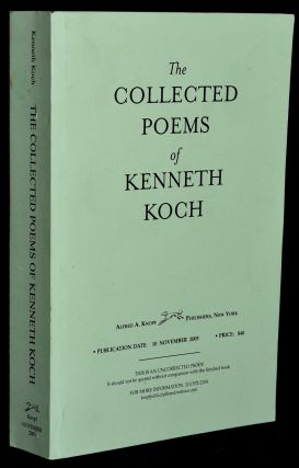 THE COLLECTED POEMS OF KENNETH KOCH. Kenneth Koch