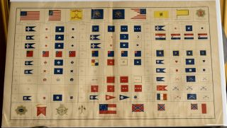 FLAGS AND PENNANTS OF THE CIVIL WAR. PLATE CLXXV. ATLAS TO ACCOMPANY THE OFFICIAL RECORDS OF...