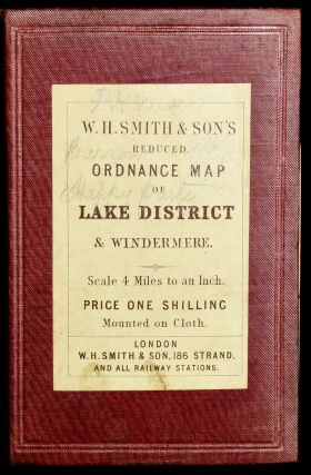 W. H. SMITH & SON'S REDUCED ORDNANCE MAP OF LAKE DISTRICT & WINDERMERE