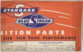 [FOLDING CHART] GENUINE STANDARD BLUE STREAK IGNITION PARTS