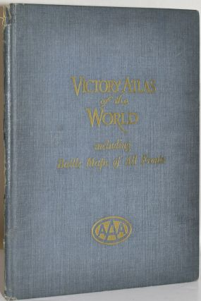 VICTORY ATLAS OF THE WORLD INCLUDING BATTLE MAPS OF ALL FRONTS.