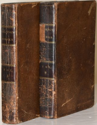 SELECT WORKS OF HENRY FIELDING. IN TWO VOLUMES. VOL. I & II. (TWO VOLUMES). Henry Fielding |...