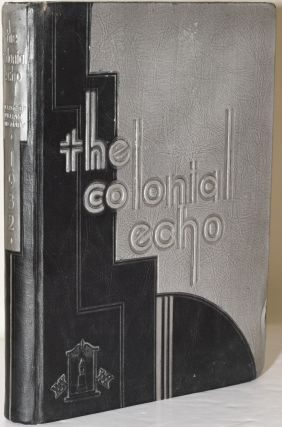 THE COLONIAL ECHO. 1932
