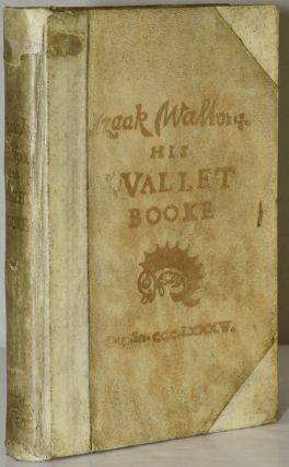 IZAAK WALTON: HIS WALLET BOOKE. Izaak Walton | Joseph Crawhall
