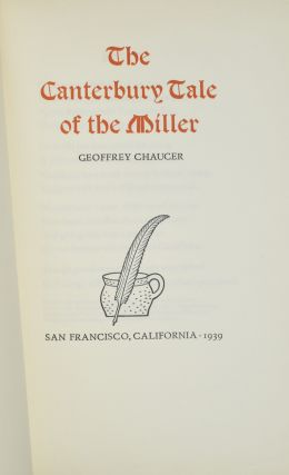 THE CANTERBURY TALE OF THE MILLER