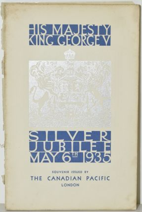SOUVENIR OF THE SILVER JUBILEE OF H.M. KING GEORGE V