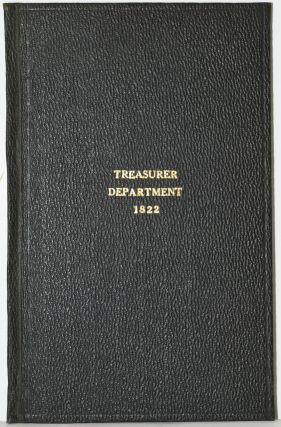REPORT OF THE SECRETARY OF THE TREASURY, MADE IN PURSUANCE OF A RESOLUTION OF THE HOUSE OF...