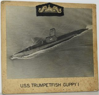 PHOTOGRAPH] U.S.S. TRUMPETFISH GUPPY I
