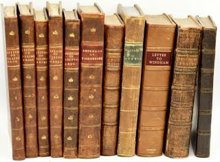 COLLECTION] TWELVE VOLUMES BY BOLINGBROKE AND HIS CRITICS. | A letter to Sir William Windham. II....