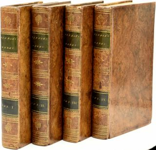 THE WORKS OF PETER PINDAR, ESQR. IN THREE VOLUMES. | VOL. I II III & IV. (FOUR VOLUMES). Peter...